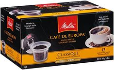 Melitta Single Cup Coffee for KCup Brewers Cafe de Europa Classique Medium Roast 12 Count *** Find out more about the great product at the image link.