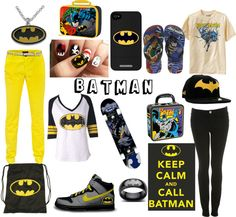 """""""Batman"""" by xoclarebear12 ❤ liked on Polyvore"""