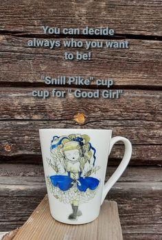 """""""Snill Pike"""" cup/cup for Good girl/cup/mug/ Good girl/ gift for girl / girt for woman/ idear for gift/ Norwegian traditional/ you can decide always who want to be Gifts For Girls, Girl Gifts, Gifts For Women, Girls Cup, Cup Cup, Present Gift, Scandinavian Modern, Cool Girl, Presents"""
