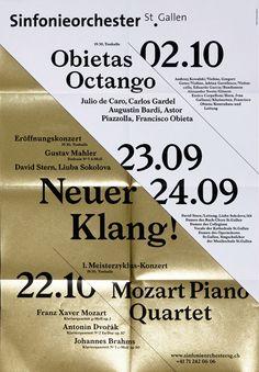 Sinfonieorchester St.Gallen Saison 2010/11, Bureau Collective