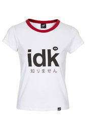 **IDK T-Shirt by Illustrated People