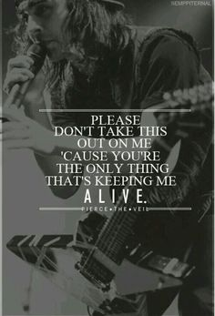 Pierce The Veil - Bulls In The Bronx lyrics Ptv Lyrics, Pierce The Veil Lyrics, Song Lyric Quotes, Music Lyrics, Music Quotes, Pierce The Veil Quotes, Tony Perry, Groupes Punk Pop, Emo Bands