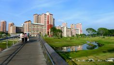 Project: Kallang River/Bishan-Ang Mo Kio Park  Designer: Atelier Dreiseitl  Location: Singapore    Bishan Park is one of Singapore's most popular parks in the heartlands of Singapore. As part of a much-needed park upgrade and plans to improve the capacity of the Kallang River along the edge of the park, works were carried out simultaneously to transform the utilitarian concrete channel into a naturalised river, creating a new urban river park.