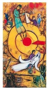 Marc Chagall - Il sogno, 1978 - jetzt bestellen auf kunst-fuer-alle.de
