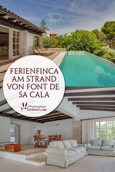 Wunderschönes Ferienhaus für bis zu 7 Personen (3 Schlafzimmer) in Font da Sa Cala auf Mallorca, nur 200 Meter vom Meer entfernt. Villa mit Pool, gemütlichem Interieur und Kamin. Ideal für Familien und befreundete Paare. Ganzjährig zu mieten.