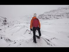 HOW TO DRESS IN ICELAND & A GLACIER TREK - YouTube