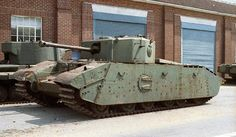 The Tank, Heavy Assault, (Excelsior) was a British experimental heavy tank based on the Cromwell design developed in the Second World War when there were concerns as to performance of the Churchill tank.