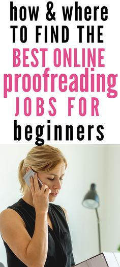 Here are the best online proofreading jobs for beginners and the highest paying gigs! Find out which legal proofreading courses we recommend! Earn Extra Money Online, Earn More Money, Ways To Earn Money, Make Money Fast, Make Money From Home, Money Tips, Money Hacks, Online Side Jobs, Best Online Jobs