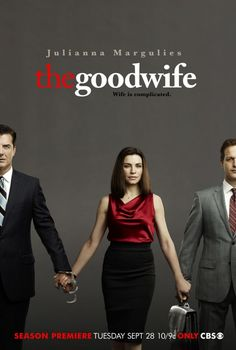 The good wife is my favorite show.  I haven't enjoyed a show ao much since Alias with Jennifer Gardner