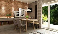 Atutami kuchni są z pewnością spora przestrzeń i duże okna z wyjściem na werandęzapewniające naturalne światło. Te...