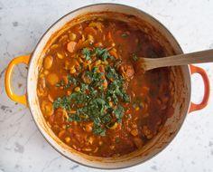 Mushroom and Chickpea Stew