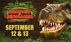 Looking for something to do in #Iowa today or tomorrow? @discoverthedinosaurs is at the #FiveFlagsCenter in #Dubuque! #CedarRapids #IowaCity #WestBranchIowa #Waterloo #Davenport #Bettendorf #Dyersville #Platteville #Madison