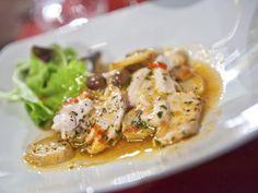 peixe com legumes