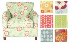 Why can't Trailer upholstery be pretty? fun?   Upholstery Fabrics from Maine Cottage | Apartment Therapy