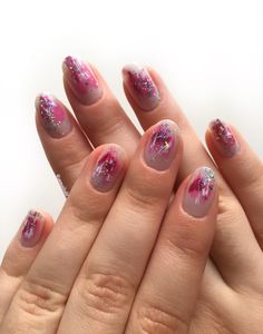 Abstract Nail Art, Pink Abstract, Photo And Video, Nails, Beauty, Instagram, Finger Nails, Ongles, Beauty Illustration