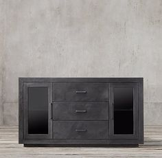 "La Salle Metal-Wrapped 60"" Sideboard"