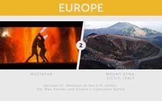 Mount Etna, Italy – Mustafar. @YoungDumbAndFun