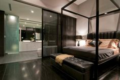 master bedroom/master bath