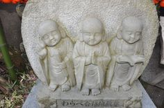 BUDDHA~~❤ Three jizo-san at Mt.Shigi Nara, Japan