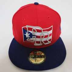2c3ff9a7907 NEW ERA 59FIFTY PUERTO RICO WBC 2013 FITTED HAT WORLD BASEBALL Red CAP 5950   NewEra  WBCPUERTORICO