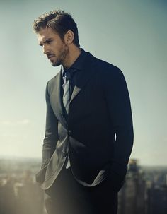 Dan Stevens is a tailored vision as he graces the pages of British GQ in Giorgio Armani.