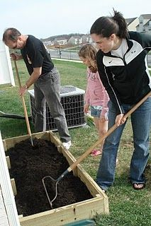 I've been planning to build a raised bed garden for my backyard for a year or so now, but I knew that it was not something I could do on my . Small Garden Greenhouse, Summer Garden, Water Garden, Vegetable Garden, Building Raised Beds, Raised Garden Beds, Organic Gardening, Gardening Tips, Growing Veggies