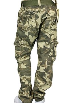 5f45a72584854c Jordan Craig Camo Cargo Pants Slim Fit Tan - Olive - Brown