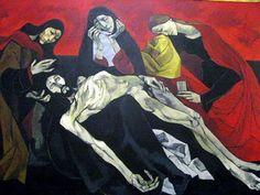 By Oswaldo Guayasamin (1919 –1999), Ecuador