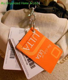 My Organized Home & Life: Purse Organization Part 1: Store Rewards Cards