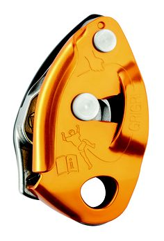 Belay device with assisted braking - Petzl Grigri 2
