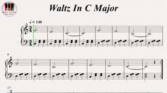 Waltz In C Major, Piano https://youtu.be/t22va2lauBI
