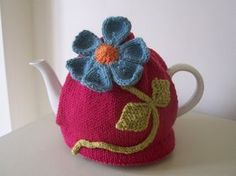 Knitting Pattern for Flora Tea Cosy