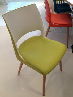 Custom Doni Chair backing to match Pallas' Nappa upholstery