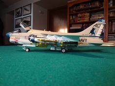 Scale model aircraft - A-7E from VA-37 1/48 scale Hobby Boss