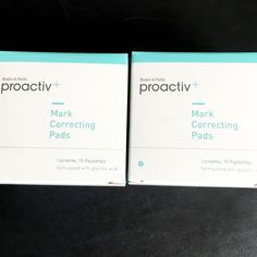 NEW & SEALED (2) proactiv+ PLUS Mark Correcting Pads (15 count x 2= 30 Count!!!)  | eBay