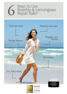6 Ways You Can Use Rosehip & Lemongrass Repair Balm Everywhere | Éminence Organic Skin Care