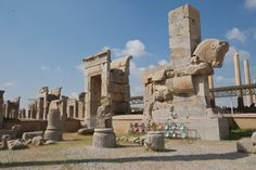 Persepolis, Iran - The palace of the King of Kings, burned by Alexander the Great