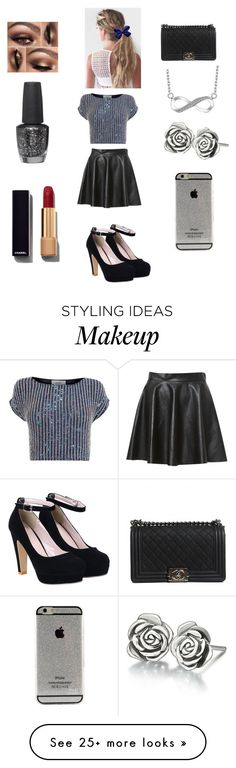 """""""hey angel"""" by jaydenloveyourstyle04 on Polyvore featuring Coast, Chamilia, Chanel and OPI"""