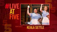 Broadway.com #LiveatFive with WAITRESS' Keala Settle