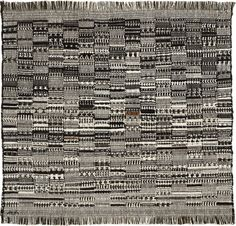 Anni Albers - Josef and Anni Albers Foundation Open Letter, 1958 cotton 23 × 24 ins. (58.4 × 61 cm) 1994.12.4