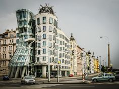 The Dancing House Or Fred and Ginger is the nickname given to the Nationale-Nederlanden building in Prague, by Alistair Ford on Fred And Ginger, Travel Images, Prague, Dancing, Ford, Street View, Building, House, Dance