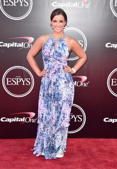 Athlete Victoria Arlen attends the 2016 ESPYS at Microsoft Theater on July 13, 2016 in Los Angeles, California.