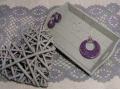Parure in ceramica e rame  Ceramic and copper necklace and