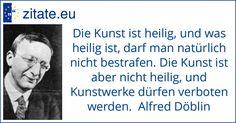 Zitat von Alfred Döblin