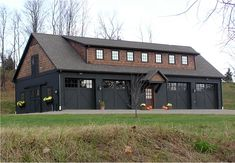 This style barn for our home with a few mods on garage doors and ...