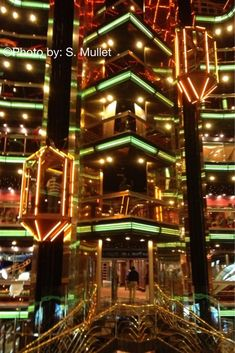 Atrium in Carnival Fascination  (Taken by: S. Mullet on 1/19/13)