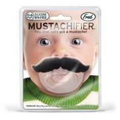 Schnuller Lil' Shaver Schnurrbart von Fred Design bei Amazon