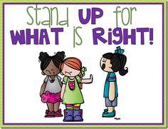 Bully-free Mini-Posters freebie!