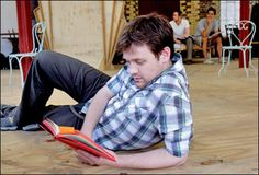 Michael Arden in rehearsal for Aspects of Love.