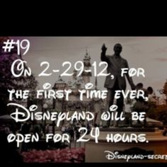 I so wanna be there!<<<<<if only time travel existed Disneyland Secrets, Disney Secrets, Disneyland Trip, Disney Trips, Disneyland Resort, Disney Dream, Disney Fun, Disney Magic, Disney Pixar